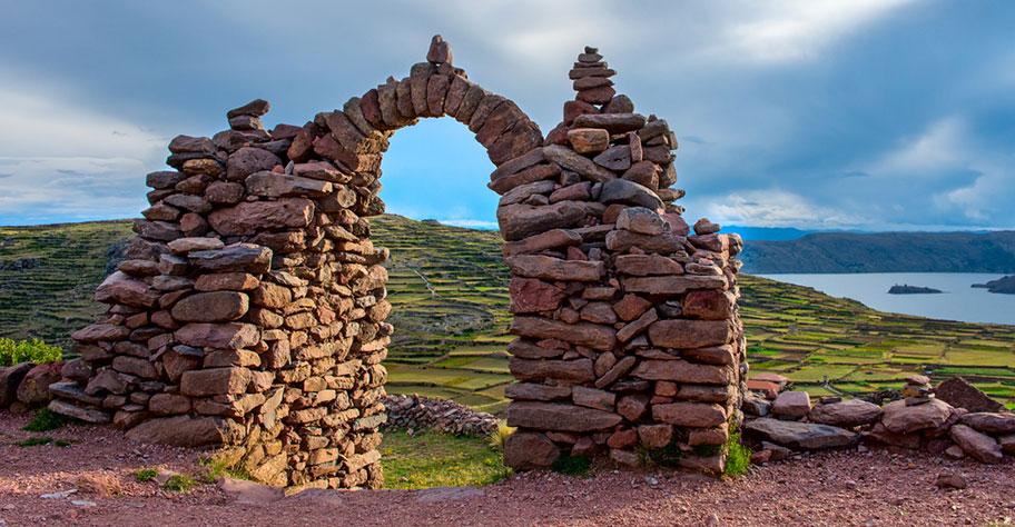Amantani Tempel Peru Reisen
