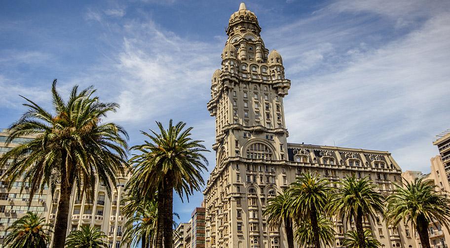 Plaza Independencia in Montevideo Weltkulturerbe Uruguay