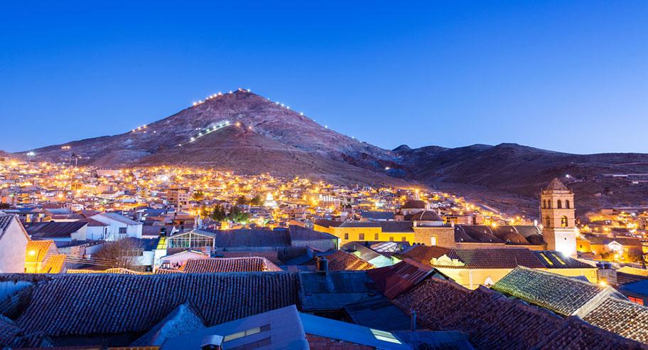 Bolivien Rundreisen Potosi Historisch Angebote günstig