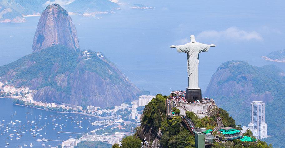 Brasilien Rundreise und Baden
