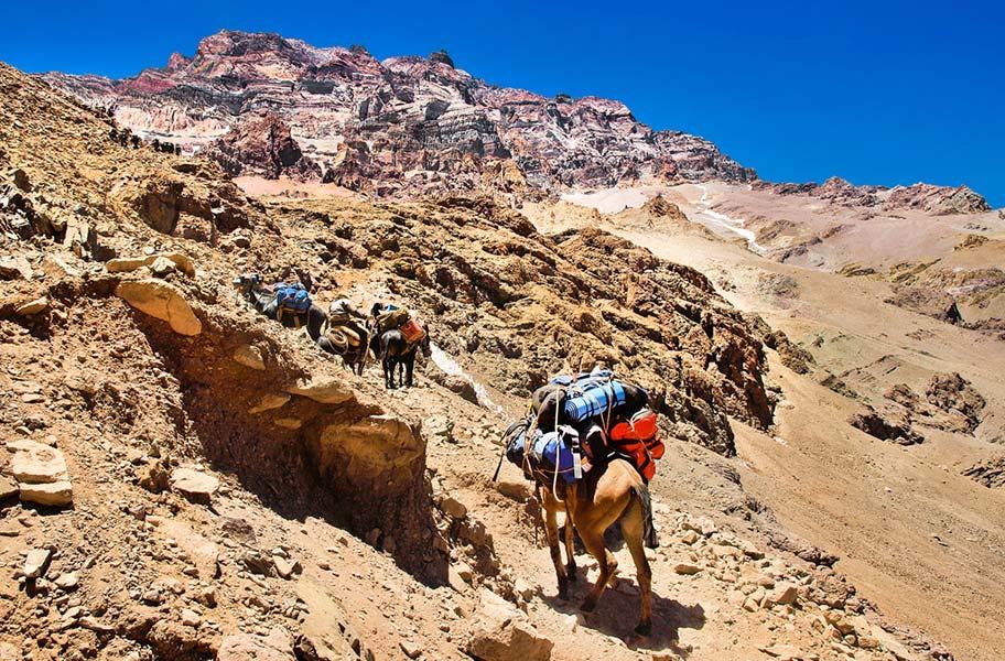 Chile Reisen mit Pferden Trekkings