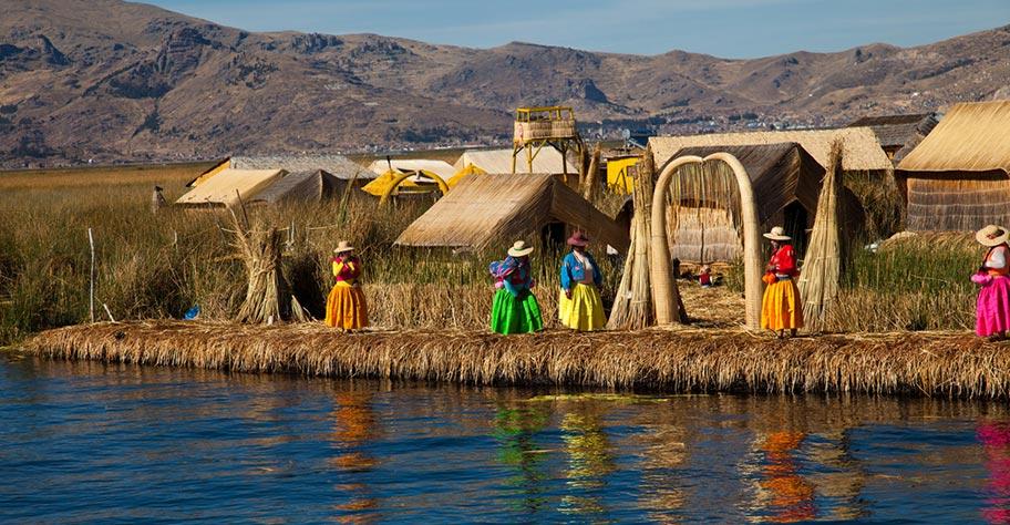 Titikakasee Inseln Ferien Peru buchen
