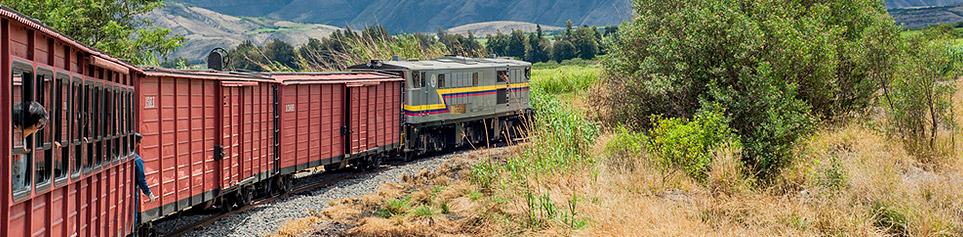 Ecuador Zugreisen
