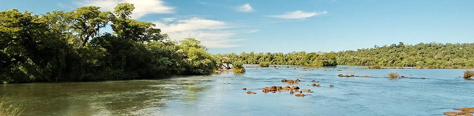 Paraguay Flusslandschaften