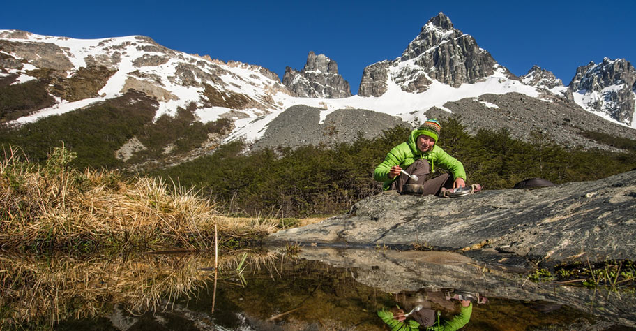 Chile Trekkings Outdoor Reisen Frau